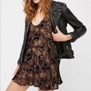 NWT Free People Ellie Burnout Dress, size XS